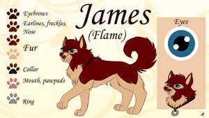 James - Jenna's father