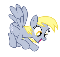 Derpy is excited by Derpwave