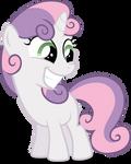 grinning Sweetie Belle