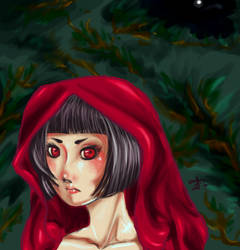 The lady in Red by lucifer-cry