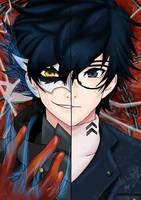 Persona 5: Joker by ArtbyBridget