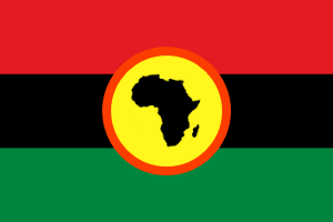 Proposed Flag of Africa by Blackfalcon501