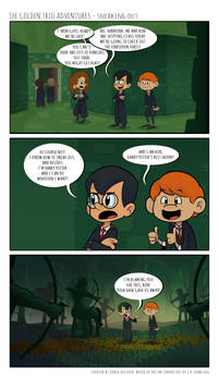 The Golden Trio Adventures - Sneaking Out