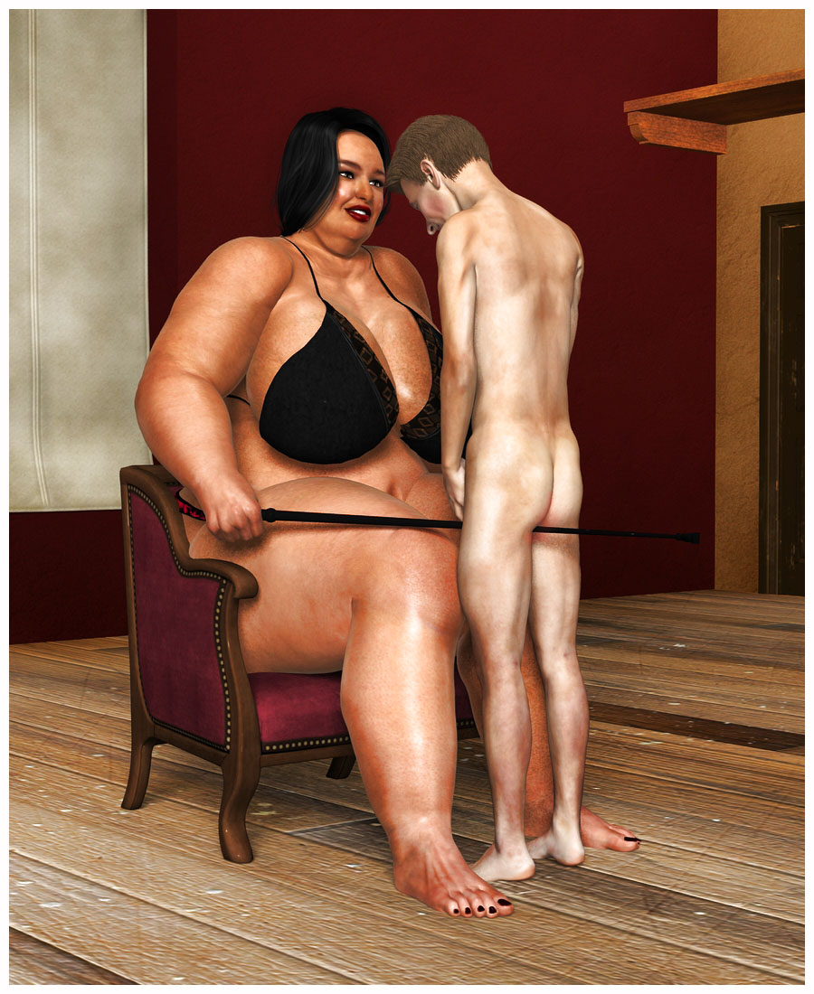 Big women and small men nude