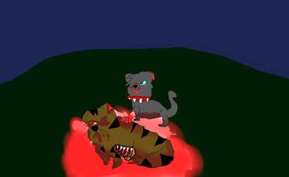 Tigerstars death by TanaTiels
