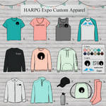 HARPG Expo Custom Apparel and Merch by LetFreedomReign2