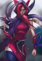 Xayah League of Legends by Tony31892