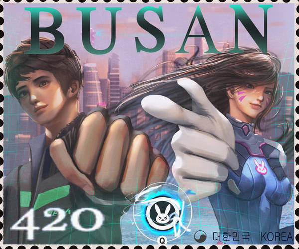 Busan stamp by Tony31892
