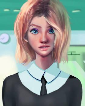 Gwen Stacy Portrait