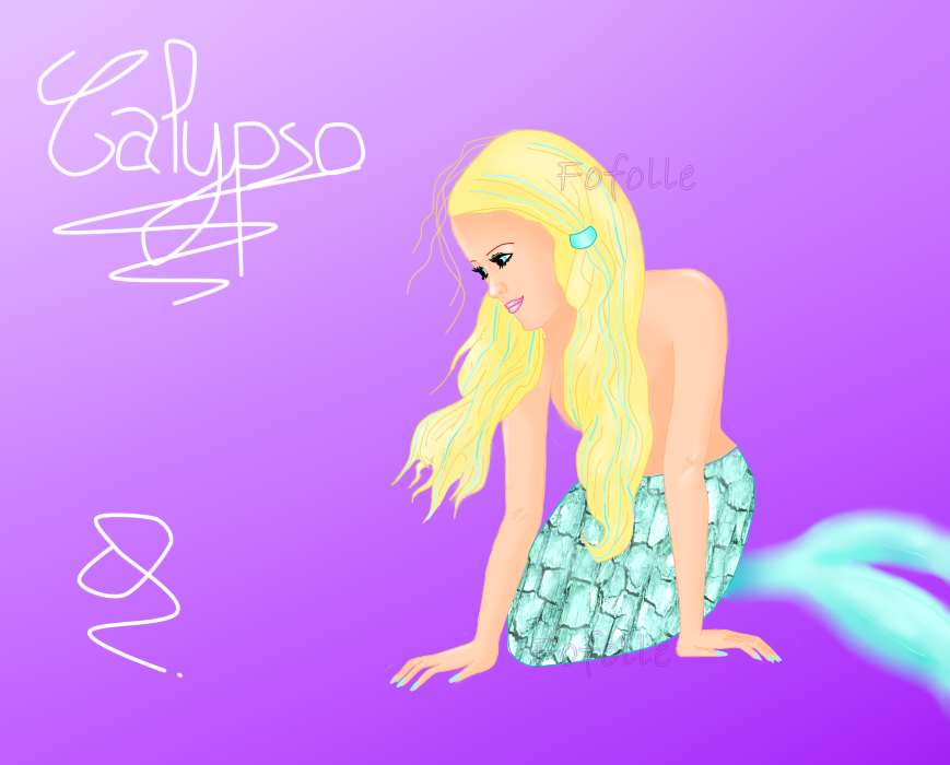 Musée de Fofolle ! - Page 2 Calypso__mermaid__by_fofollitude-d6iczgi