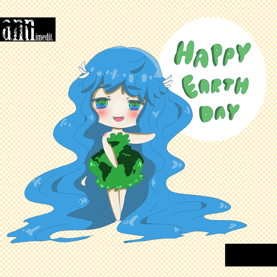 Happy Earth Day by ann-miyo
