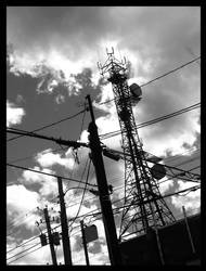 On the wires. by Nowherexbutxhere