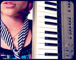keyboard. by Nowherexbutxhere