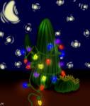 Christmas Cactus. by Nowherexbutxhere