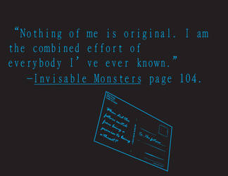 I am not original. by Nowherexbutxhere