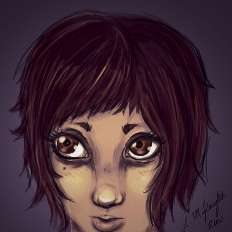 brown eyes by Nowherexbutxhere