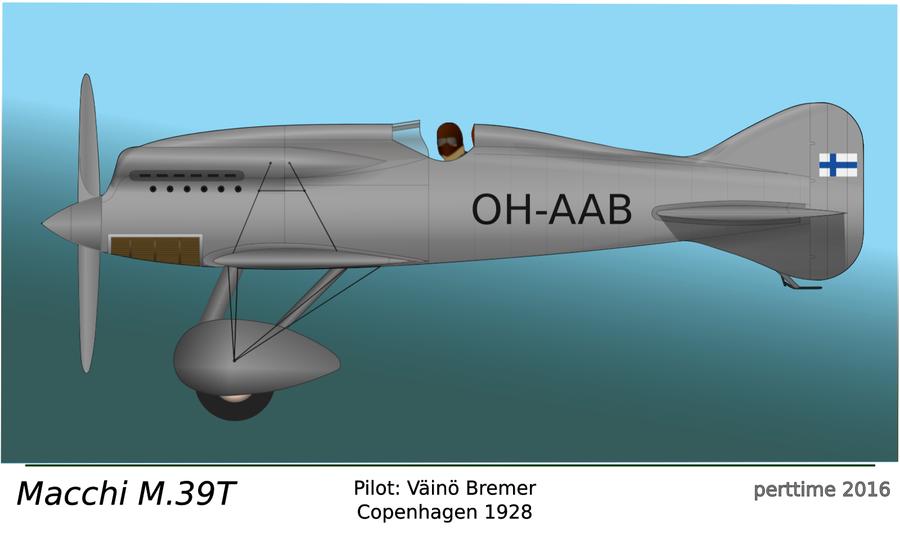 Macchi M.39TS by perttime