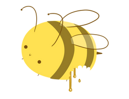 Honey bee by 0cuttletopia0