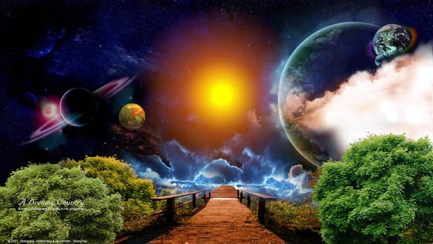 A Dreamy Country. Cosmic_bridge.