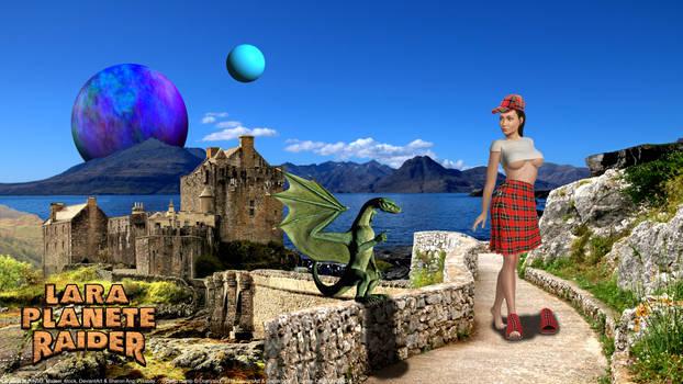 Lara Planet Raider 010 : Scotland story.