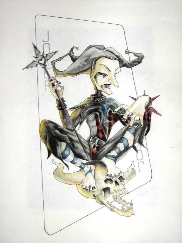 joker card art - photo #18