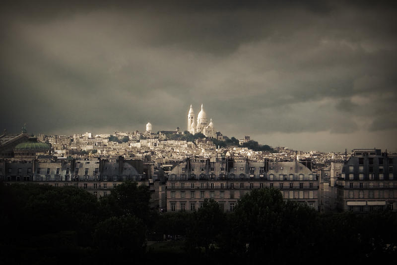 A Montmartre view by guitarsimo80