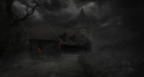 Haunted Church by guitarsimo80