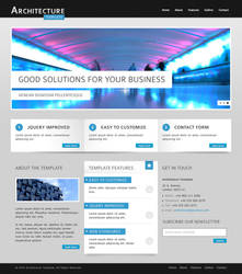 Architecture HTML Template by guitarsimo80