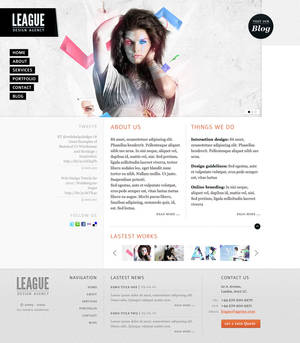 League design agency