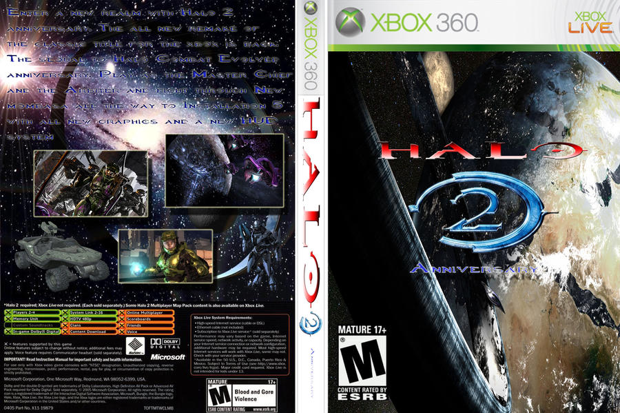 halo 2 anniversary fake cover by revanchist256 on deviantart
