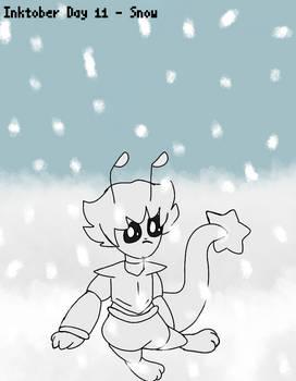Astral Story Inktober #11 - Snow