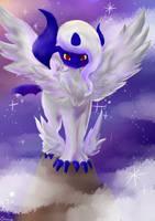 Mega Absol by FoxyPaws-Dragonessa