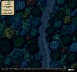 Trilha na Floresta (Forest Trail) - Map 2, night