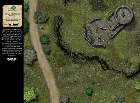 Abrigo nas Ruinas (Shelter in the Ruins)