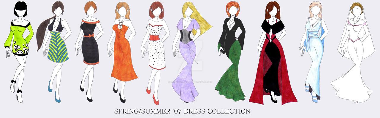 Summer 07 dresses