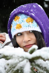 Lara and snow