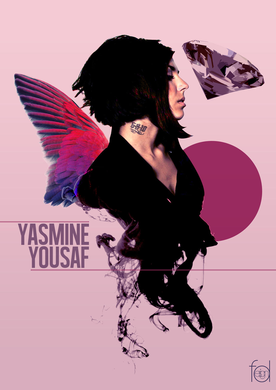 Yasmine Yousaf Digital Art by ferdinandmulya on DeviantArt