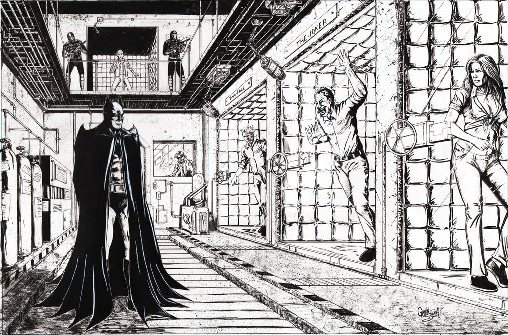 Batman: Arkham Asylum by gavinsmith on DeviantArt