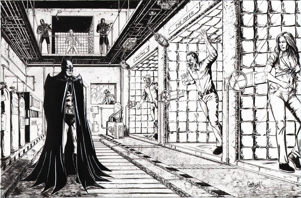 Batman: Arkham Asylum by gavinsmith on DeviantArt