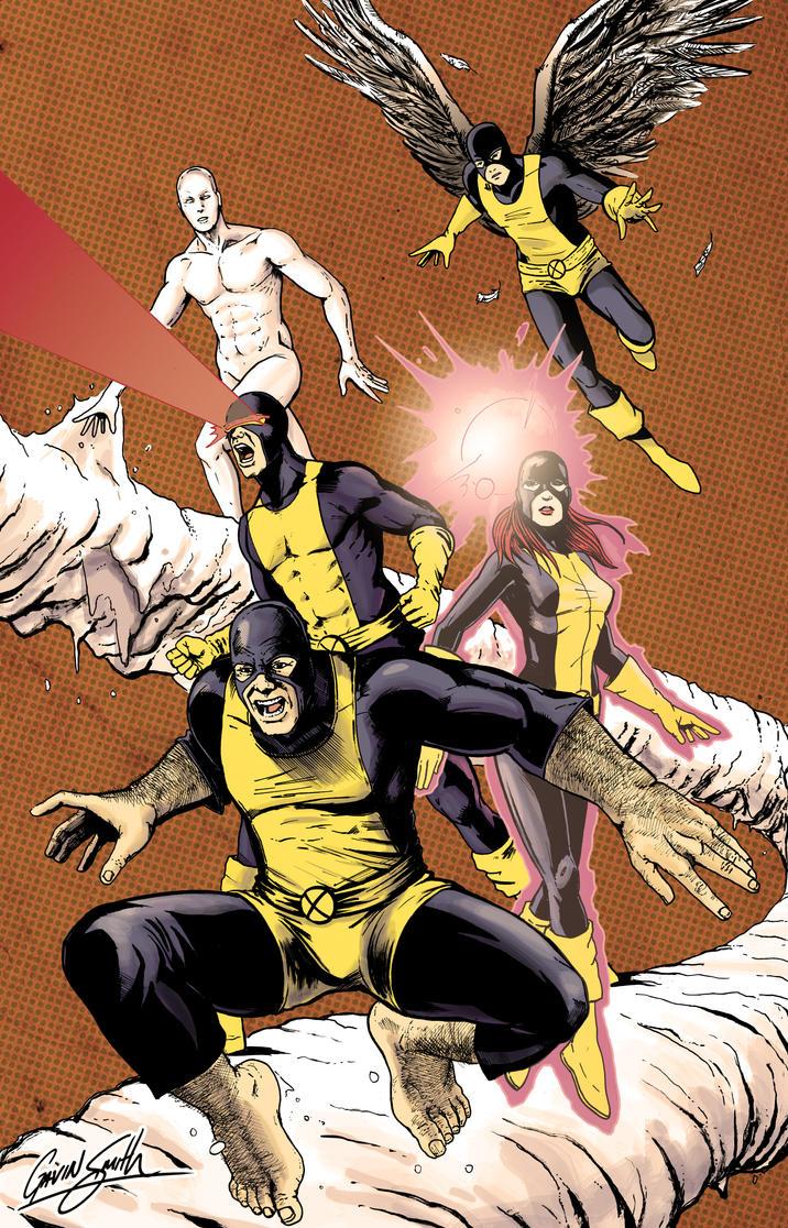X-Men by gavinsmith
