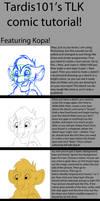 TLK comic style tutorial by tardis101