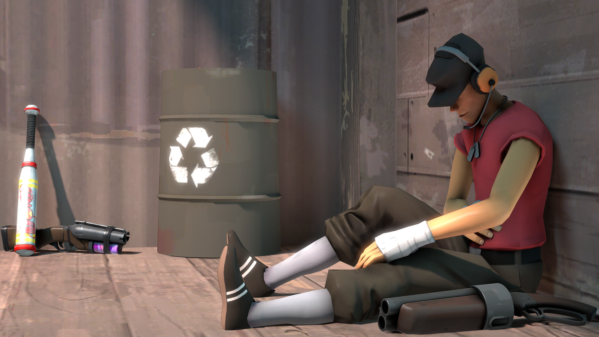 Sitting Scout by Craftosaur