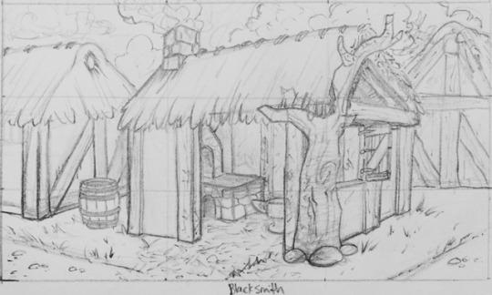 Blacksmithshop by Dinosaurolophus