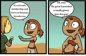 Gerudo Membership card by TheCoolCactus