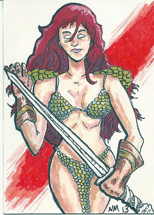 Red Sonja by bedlamnac