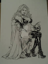 Lady Death by Mike Krome