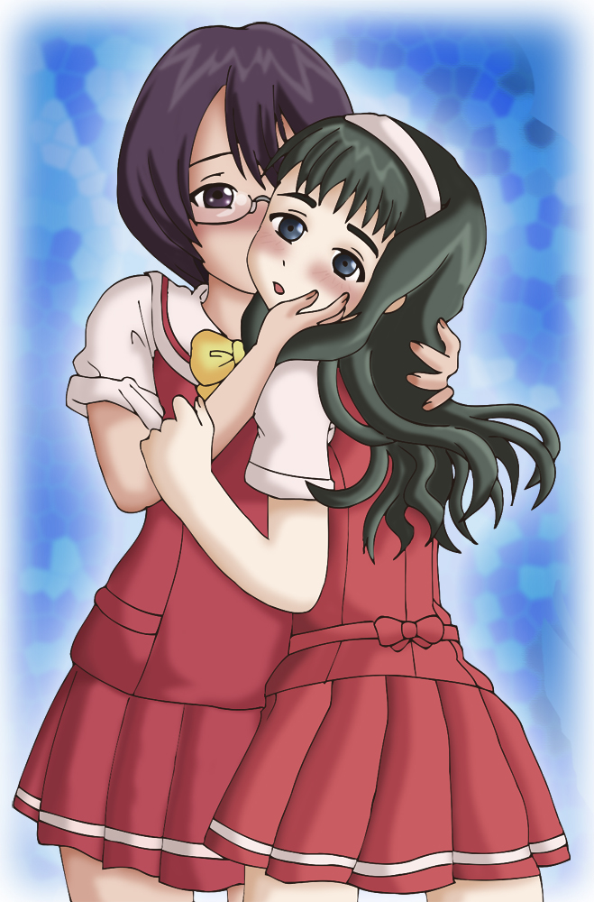 Ayuki kisses Yasuna by mandygirl78