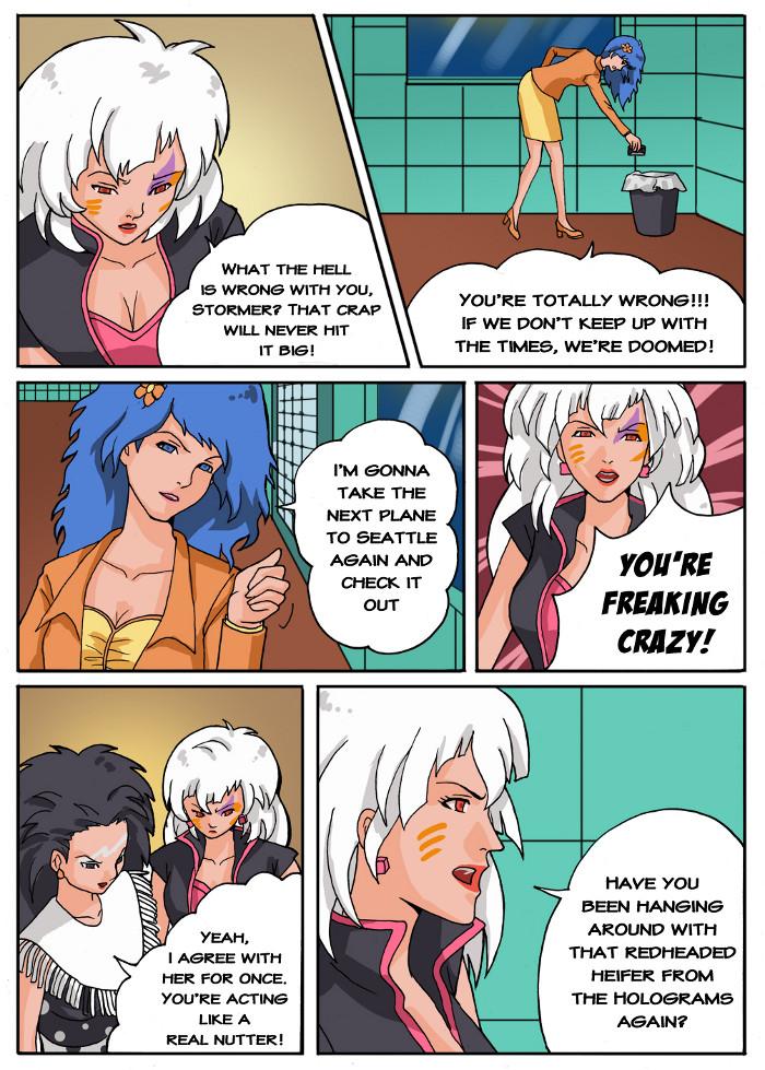 Jem Fan Comic - Not So Glamorous Life Pg 8 by mandygirl78