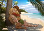 Heileen - With Ebele On A Caribbean Island.