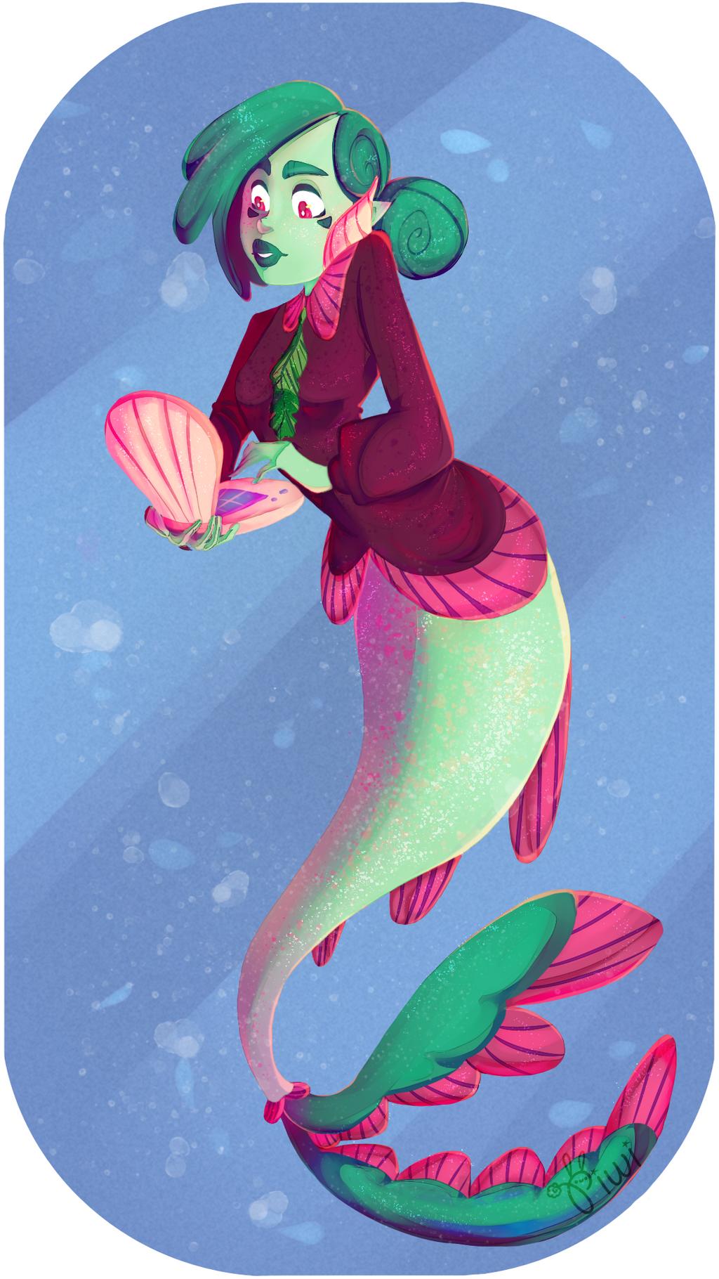 Fishy business by Bluna-blu